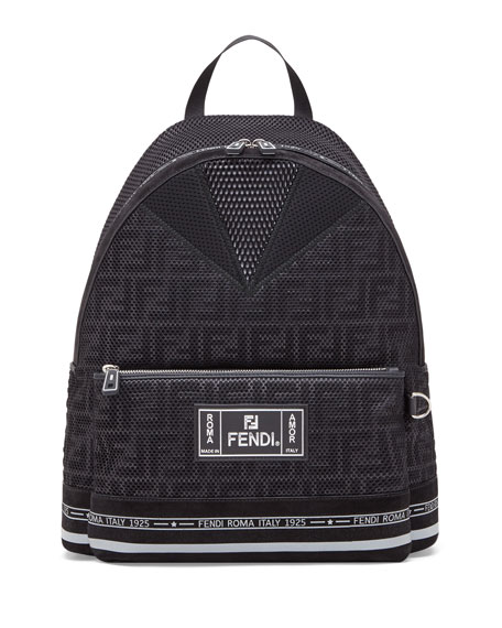 Image 1 of 1: Men's FF Roma Amor Perforated Backpack