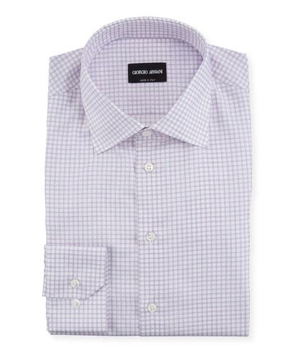 Men's Graph-Check Dress Shirt