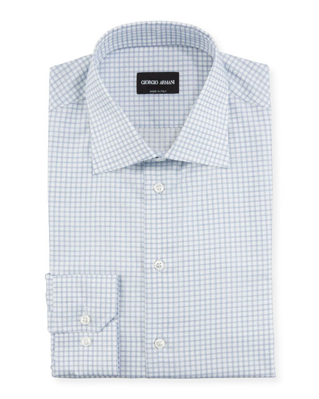 Image 1 of 1: Men's Check Dress Shirt