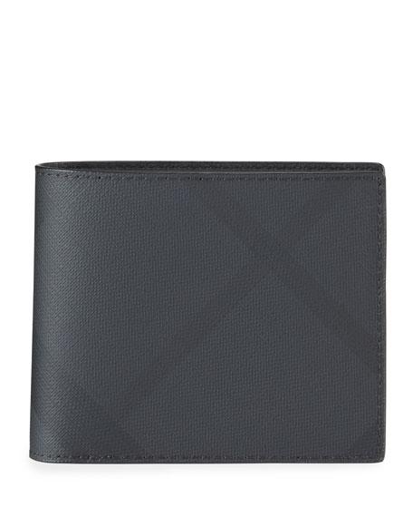 Men's Ronan London Check Wallet