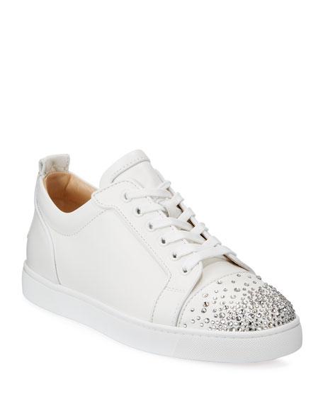 Men's Louis Junior Crystal-Embellished Leather Sneaker