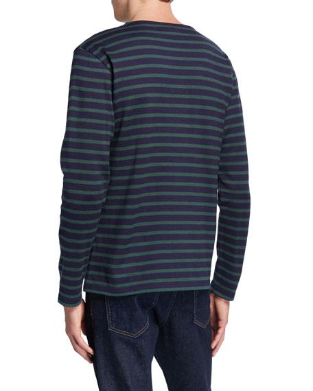 Men's Striped Long-Sleeve T-Shirt