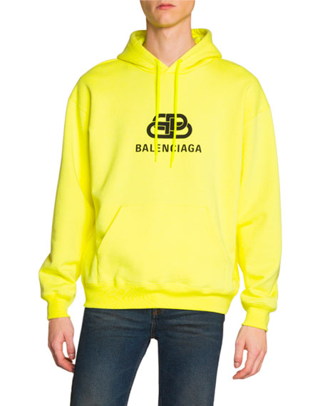 Men's Logo Graphic Pullover Hoodie