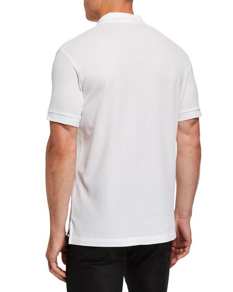 Men's Eddie Pique Polo Shirt, White