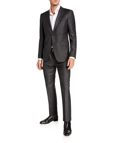 Men's Trofeo Wool Two-Piece Suit