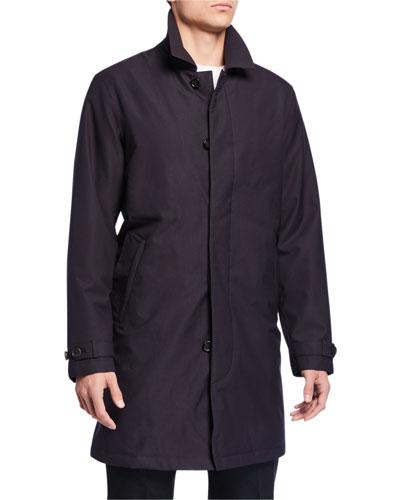 Men's Microfiber Raincoat