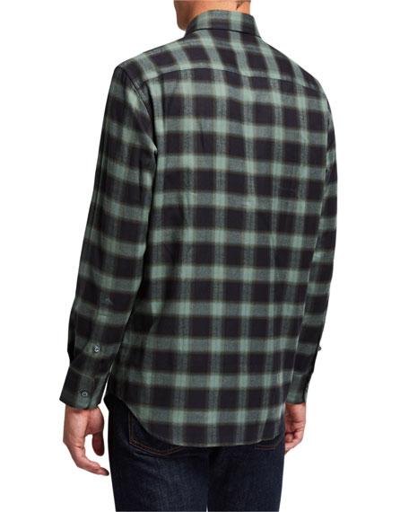 Men's Loden Plaid Sport Shirt