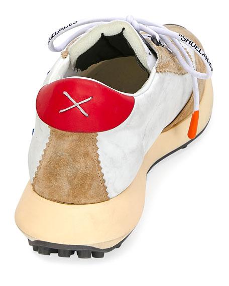 Men's Arrow Colorblock Running Sneakers