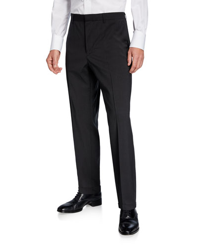 Men's Poplin Wool Travel Trousers