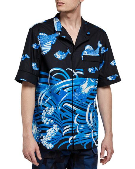 Men's Couture Archive Short-Sleeve Sport Shirt