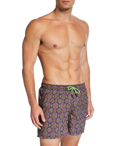 Men's Medallion Graphic Swim Trunks