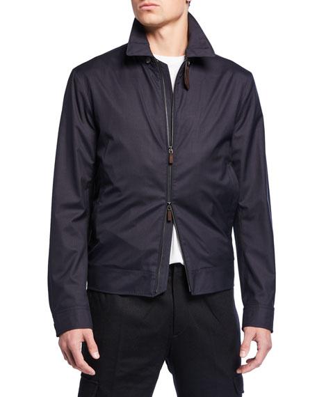 Men's Traveler Zip-Front Jacket