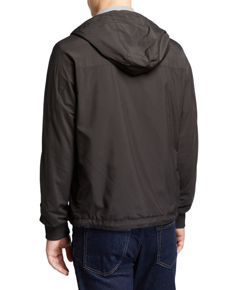 Men's Wind Jacket with Cashmere Lining
