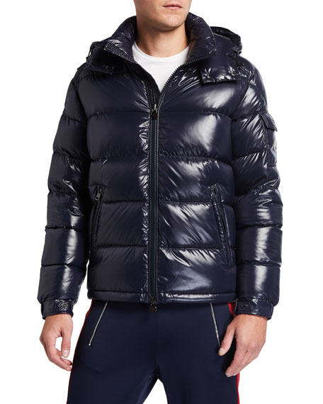Men's Maya Hooded Puffer Coat