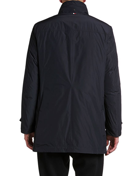 Men's Daumeray Snap-Front Utility Jacket