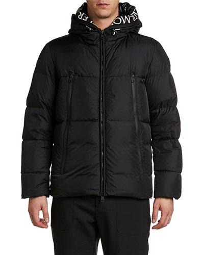Men's Montcla Hooded Puffer Coat