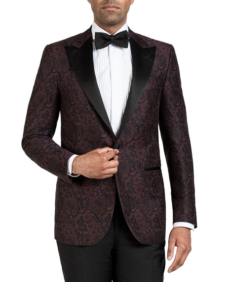 Men's Oversize-Paisley Dinner Jacket