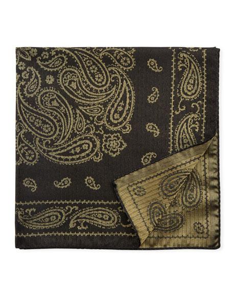 Paisley Silk-Blend Pocket Square
