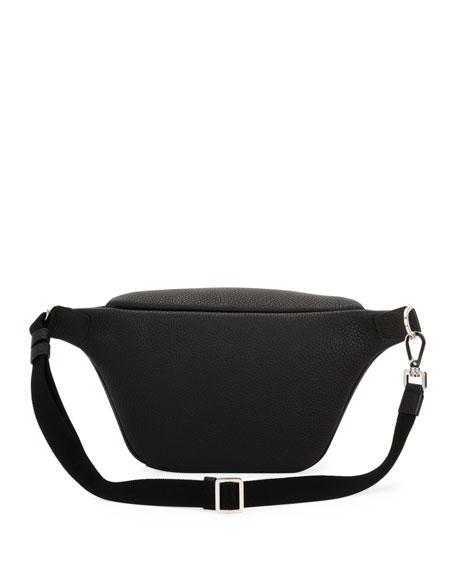 Men's Waits Leather Belt Bag/Fanny Pack