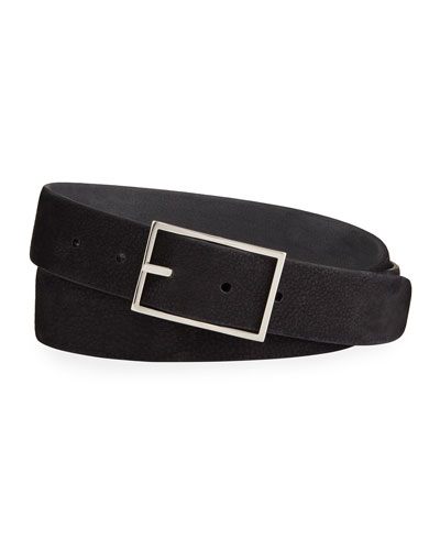 Men's Nubuck Reversible Belt