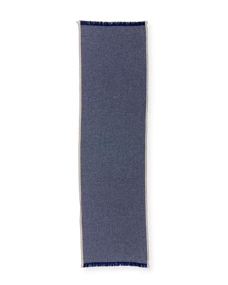 Men's Birdseye Cashmere Scarf