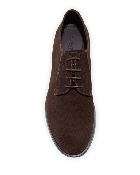 Men's Chevron Low-Top Chukka Boots