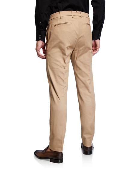 Men's Gehry Stretch-Cotton Chino Trousers