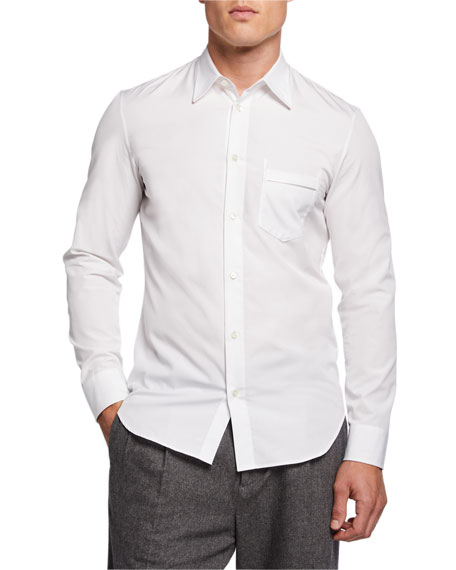 Men's Dale Solid Slim-Fit Sport Shirt