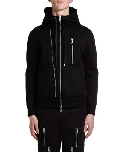 Men's Multi-Zipper Hoodie