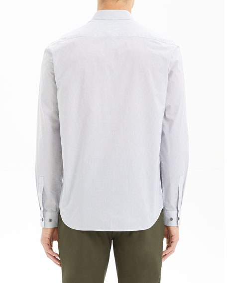 Men's Irving Alberto-Print Sport Shirt