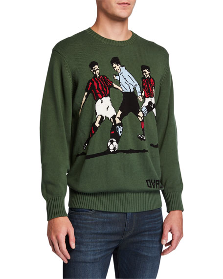Men's Betar Soccer Graphic Sweater