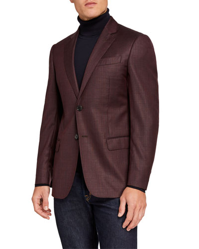 Men's G Line Super 130s Virgin Wool Sport Jacket