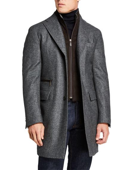 mens-wool-twill-car-coat-w_-suede-trim by neiman-marcus