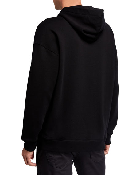 Men's Logo Graphic Pullover Hoodie