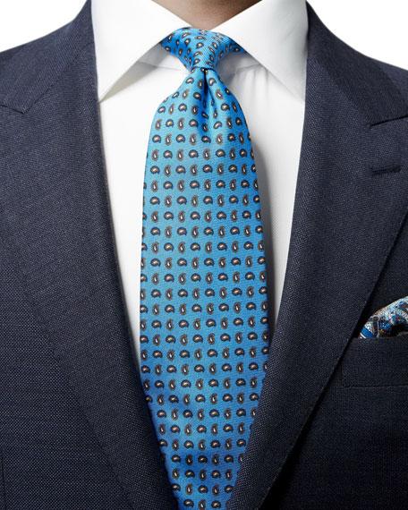 Men's Silk Paisley Tie