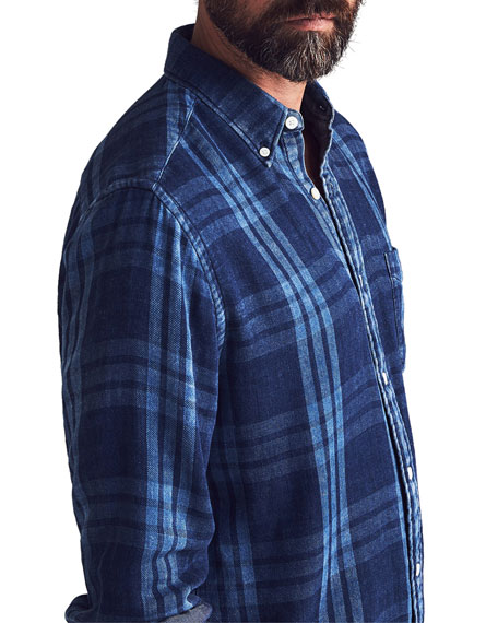Men's Pacific Double-Cloth Sport Shirt