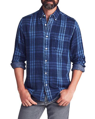 Men's Pacific Double-Cloth Sport Shirt