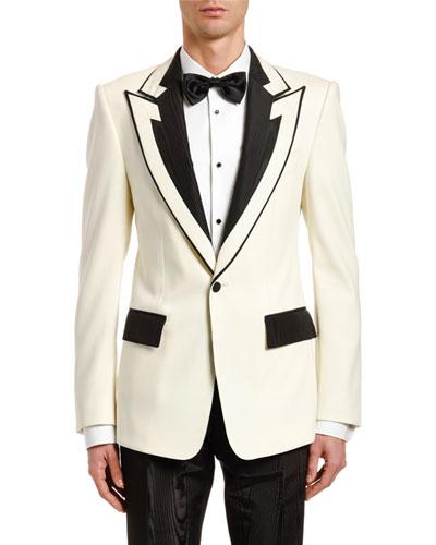 Men's Two-Tone Evening Jacket