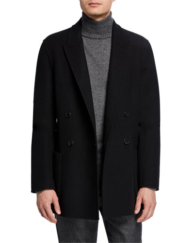 Men's Nick Double-Breasted Jacket
