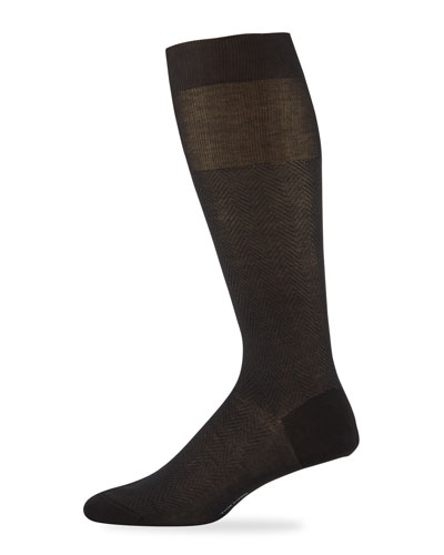 Men's Herringbone Cotton Socks