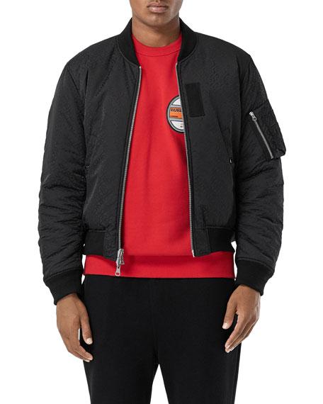 Men's Reversible Bomber Jacket