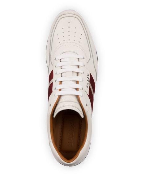 Men's Aston Trainspotting Leather Running Sneakers