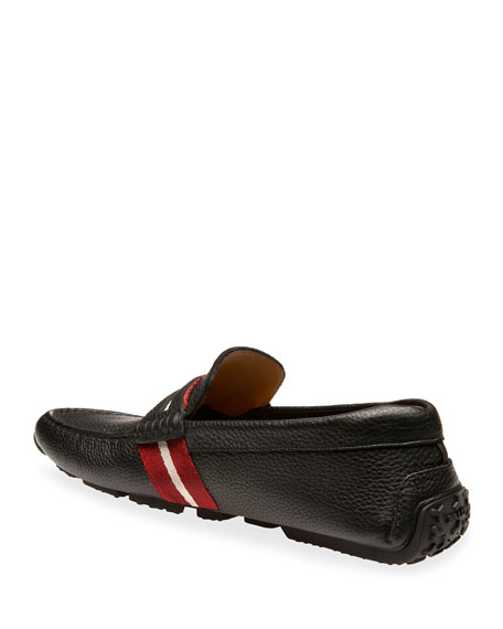 Men's Pietro Trainspotting Leather Penny Drivers