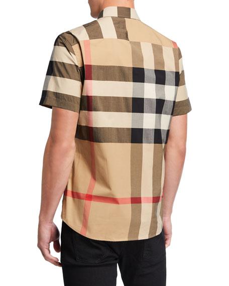 Men's Somerton Check Short-Sleeve Sport Shirt