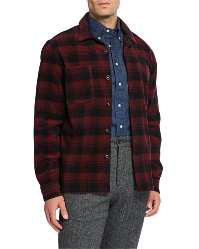 Men's Classic Shirt Jacket