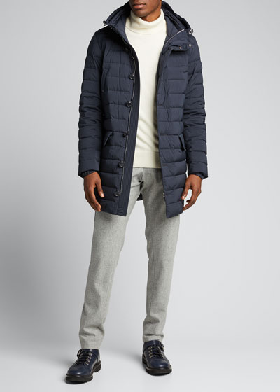 Men's Arnaud Hooded Puffer Coat