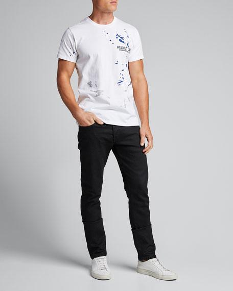 Men's Paint-Splatter Graphic T-Shirt