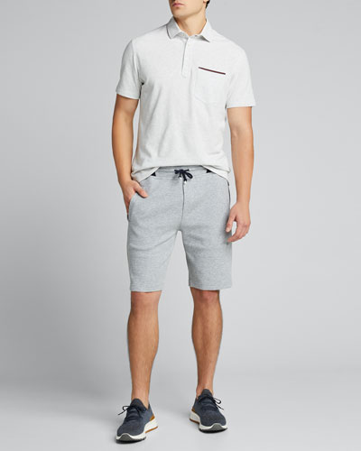 Men's Colorblock Knit Bermuda Shorts