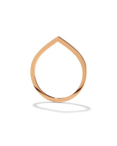 Antifer Ring in 18K Gold