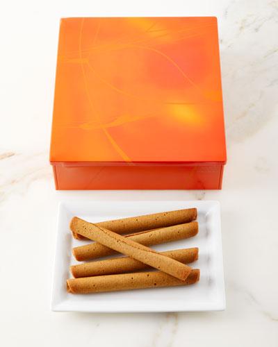 20 Small Cigare au Tea Cookies